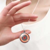 Мандала Сила и Величие - медальон с мандала
